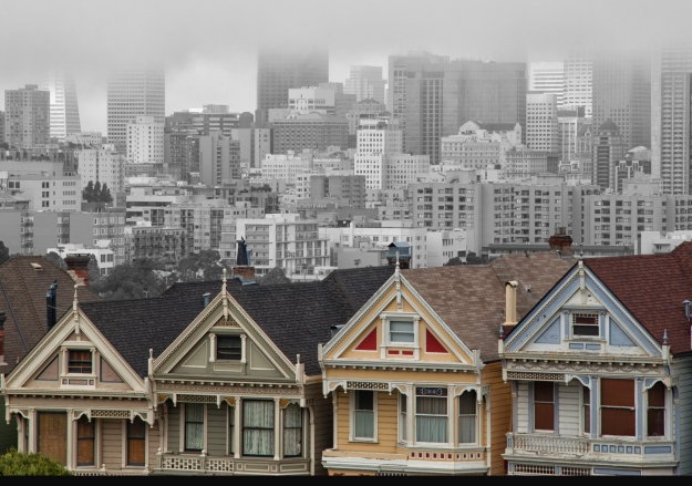 """The Colorful Mistresses of Alamo Square"""