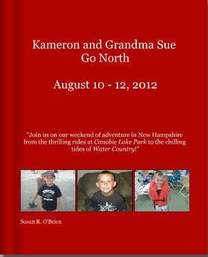 Kameron and Grandma Sue Go North